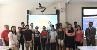 Alumnos y docentes de hostelería