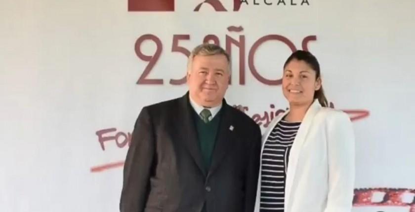 Francisco Sánchez y Aranzazu Villalvilla 25 aniversario eht